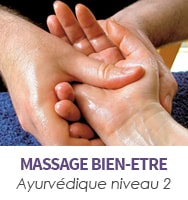 Massage ayurvédique niveau 2