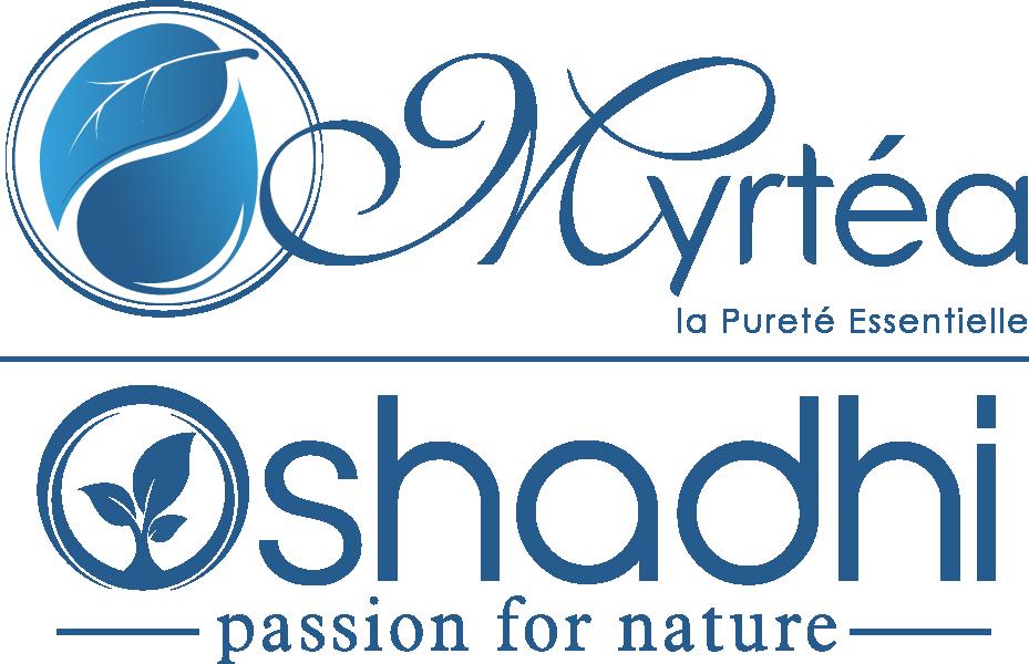 Nouveau logo Myrtéa - Oshadhi